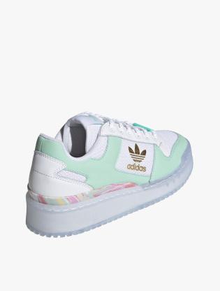 Adidas Forum Bold Shoes Women's Sneakers Shoes - Ftwr White/Frozen Green/Matte Gold3