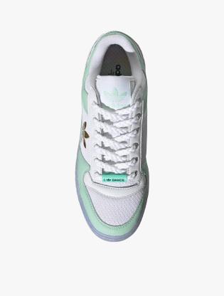 Adidas Forum Bold Shoes Women's Sneakers Shoes - Ftwr White/Frozen Green/Matte Gold4