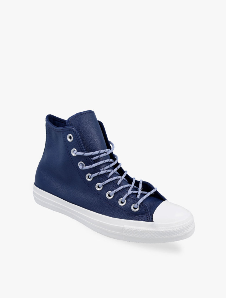 0926b0cf01e ... Converse Chuck Taylor All Star Limo Leather High Top Men s Sneakers  Shoes. 1234