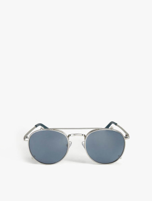 Detachable Rounded Sunglasses0