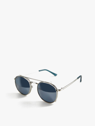 Detachable Rounded Sunglasses1