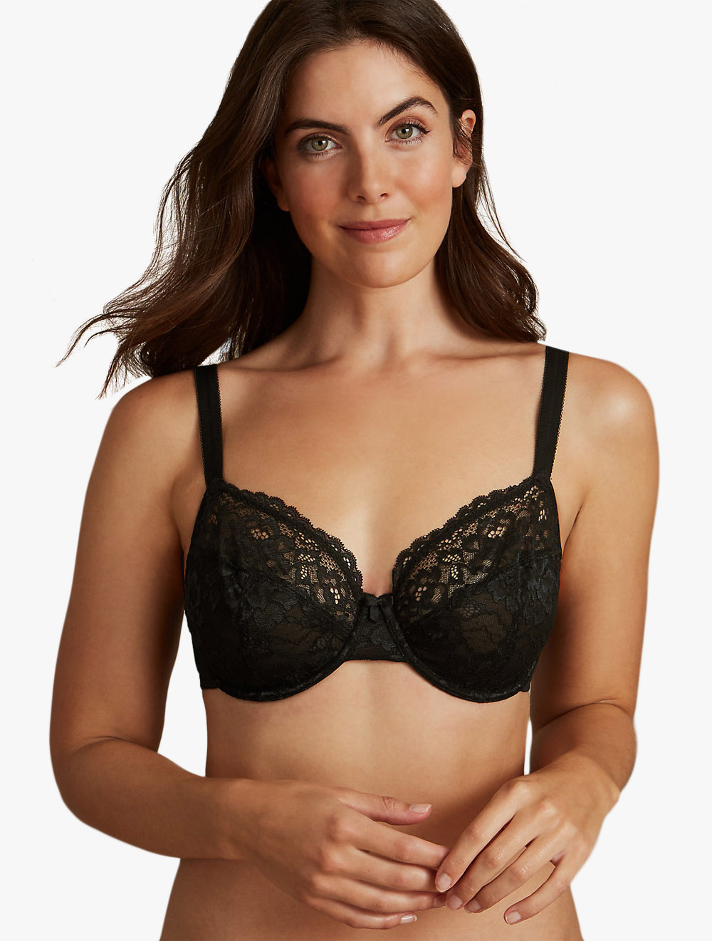BEAUFORME LACE FULL CUP NON-PADDED or PADDED SUPPORT UNDERWIRED BRA ALL SIZES