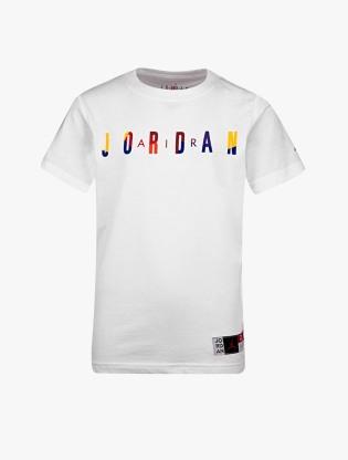Jordan Kids Boy's Short Sleeve T-Shirt - White0