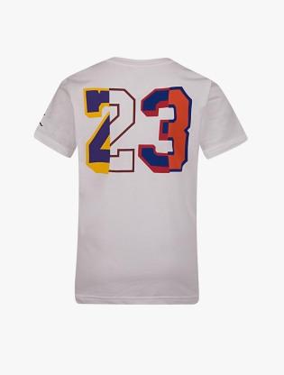 Jordan Kids Boy's Short Sleeve T-Shirt - White1