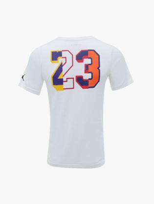Jordan Kids Boy's Short Sleeve T-Shirt - White2