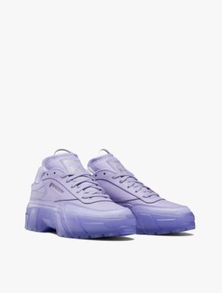 Reebok CLUB C CARDI Women's Sneakers Shoes - Purple2