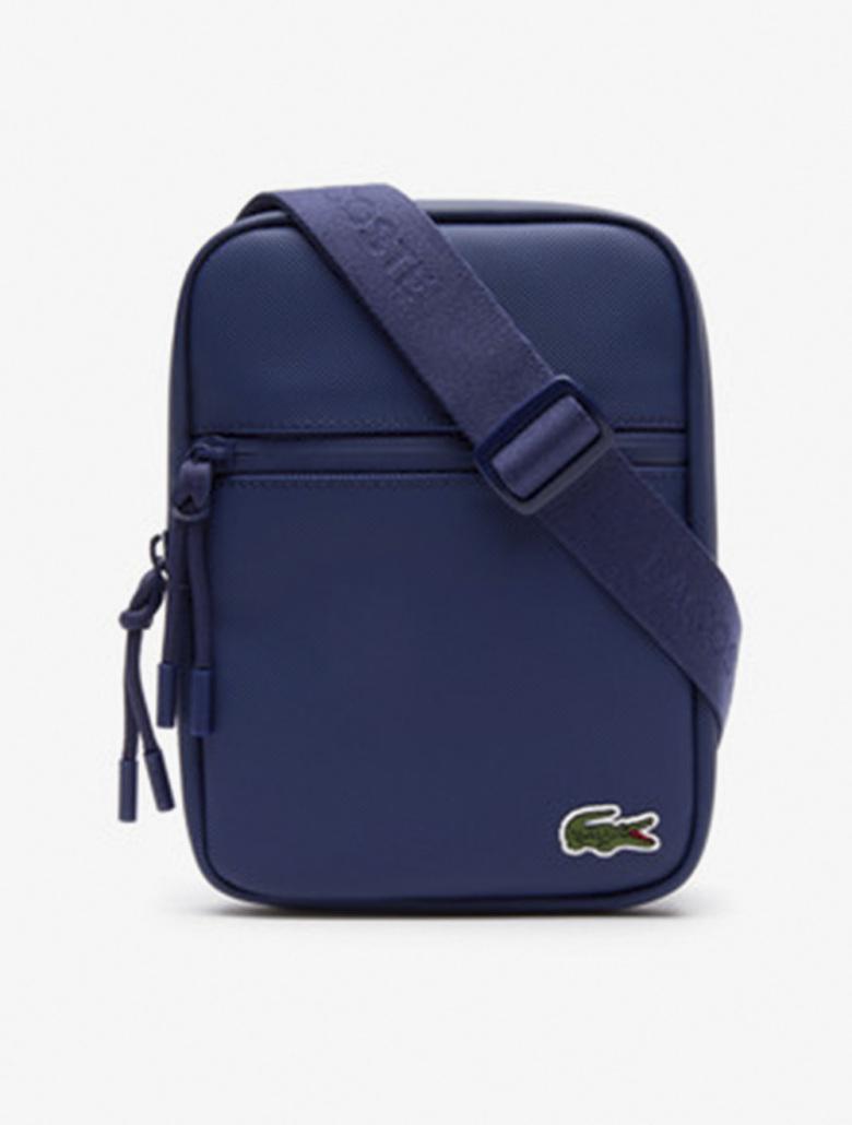 9a8ab3b38b Men's L.12.12 Concept Coated Petit Pique Canvas Small Zip Bag