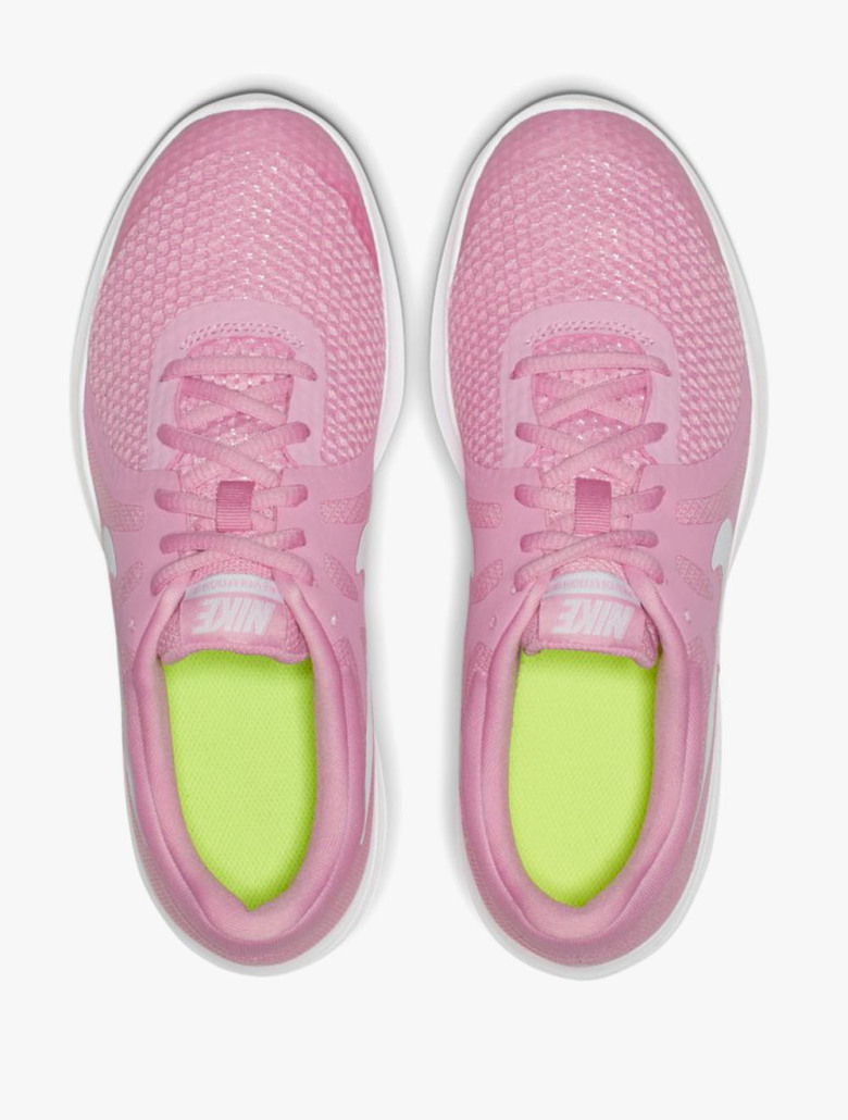 ... Nike Revolution 4 Grade-School Girls  Running Shoes. 1234 83d520f8d