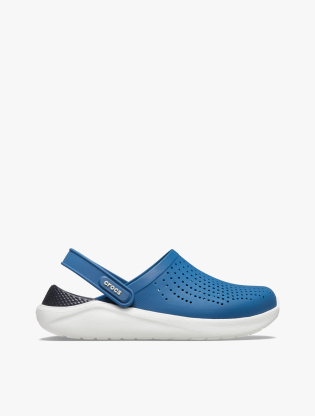 Crocs Unisex LiteRide Clog - Vivid Blue/Almost White0