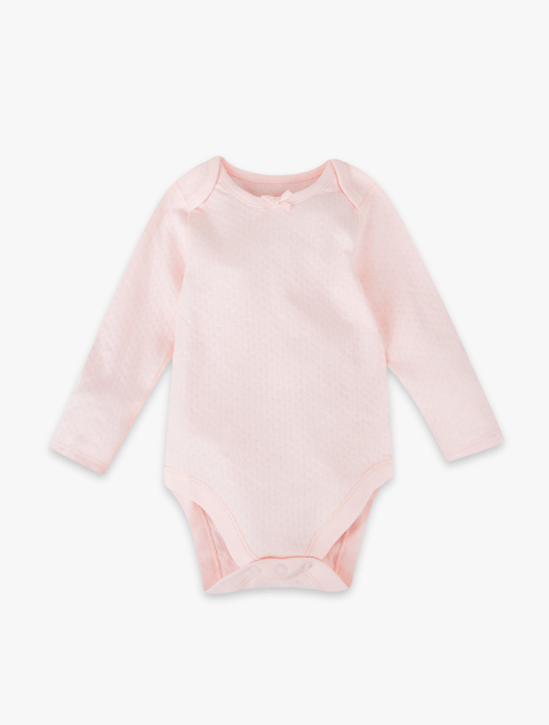 36a3e6b8b 5 Pack Pure Cotton Bodysuits