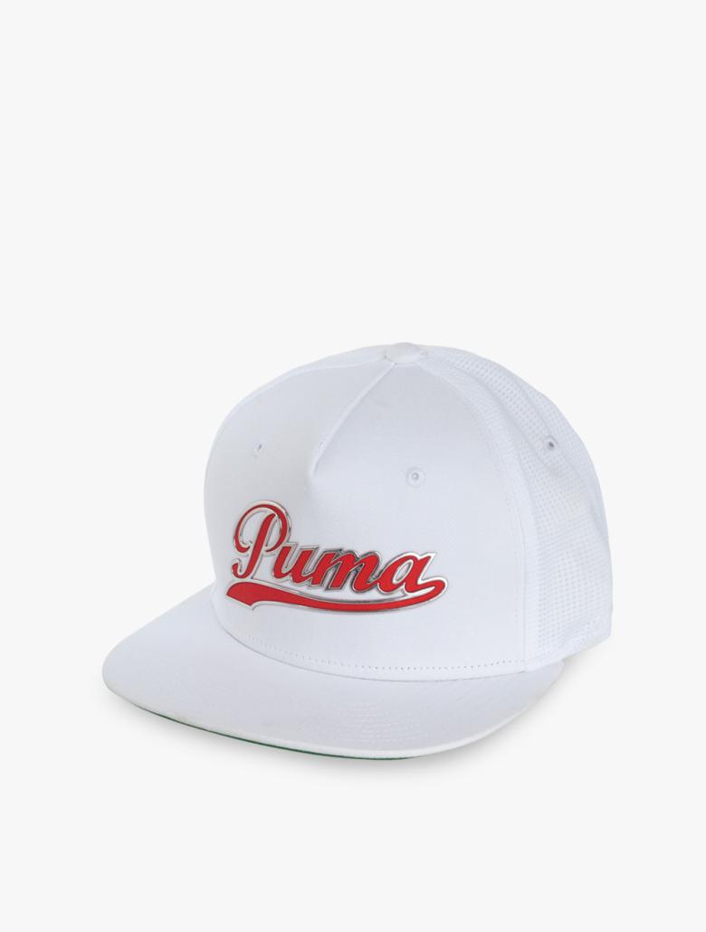 6f1256e947db3 Puma Golf Script Snapback Men s Golf Cap